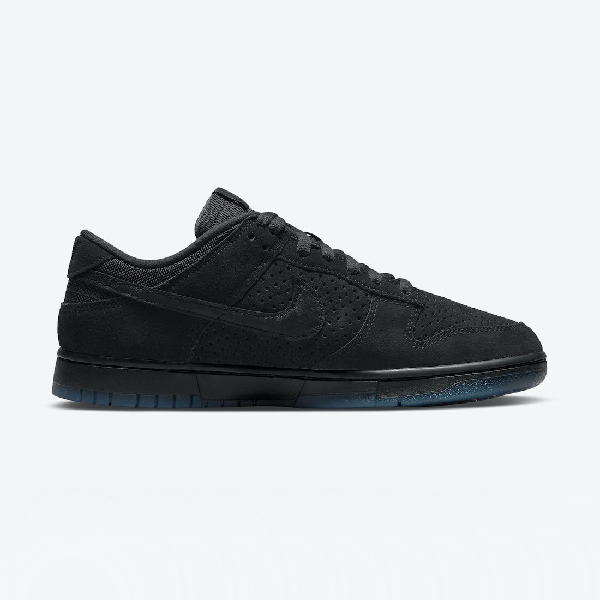 Undefeated X Nike Dunk Low 5 On It Black