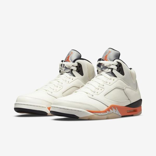 Nike Air Jordan 5 Orange Blaze