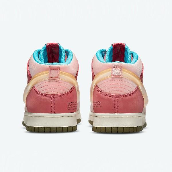 Social Status x Nike Dunk Mid Strawberry Milk