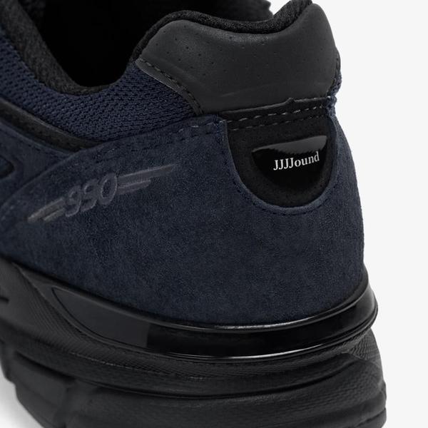 JJJJound x New Balance 990v4 Navy